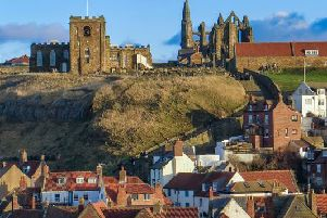 The views from Whitby Abbey make the steps up worth the climb