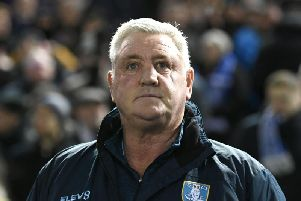 Sheffield Wednesday manager Steve Bruce.