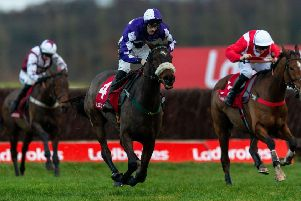 Change of tack: Lady Buttons will race over fences at Aintree next month. (Picture: Paul Harding/Getty)