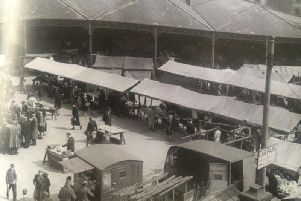 The old Wool Market from the Corn Exchange