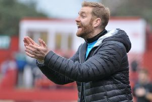Harrogate Town manager Simon Weaver.
