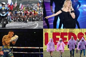 There are plenty of exciting events to look forward to in Yorkshire this year