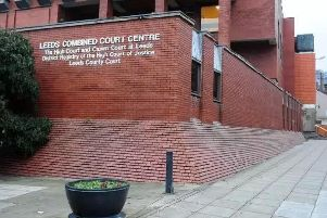 How a burglary descended into a police officer assault was described in a case at Leeds Crown Court today.