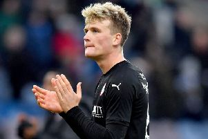 Barnsley's Cameron McGeehan: Sights on second promotion.