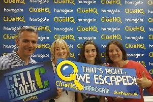 Less than a year since it opened, Clue HQ is ranked number one on TripAdvisor under the fun and games category for Harrogate.