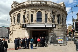 The Majestic building has long been an iconic landmark in Leeds city centre