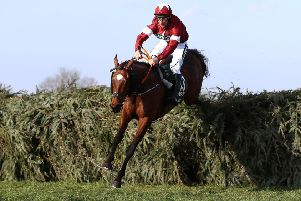 Davy Russell and Tiger Roll clear the last in the 2018 Grand National - today they bid to become the first dual winner of the world's greatest steeplechase since Red Rum.