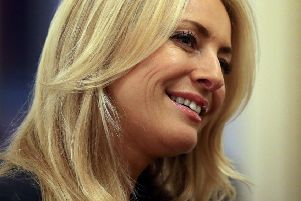 Tess Daly. PIC: Gareth Fuller/PA Wire