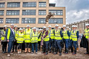 Archbishop officially marks work on key York construction site