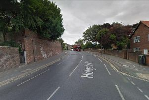 North Yorkshire Police are appealing for witnesses after a cyclist died in hospital following a crash with a parked car on Sunday.