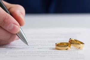 The laws surrounding divorce could change following a government consultation (Photo: Shutterstock)
