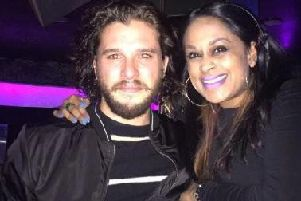 Kit Harington during his famous night at The Oracle