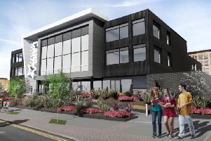 Staff at a performing arts school are ecstatic after planning permission was granted for a new state-of-the-art teaching facility in the city centre. Picture: Race Cottam Associates