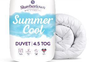The 4.5 tog Slumberdown Summer Cool Duvet