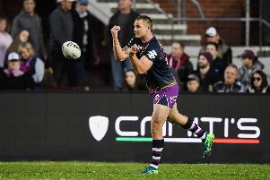 Melbourne Storm's Cheyse Blair has joined Castleford