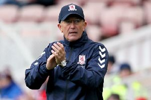 Middlesbrough manager Tony Pulis (Picture: Richard Sellers/PA Wire).