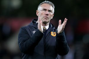 Hull City's manager Nigel Adkins says winning away to Leeds United let them know 'we can beat anyone on our day' (Picture: John Walton/PA Wire).