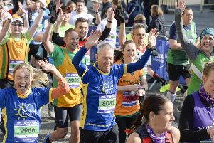 Sheffield Half Marathon runners. Picture: Dean Atkins.