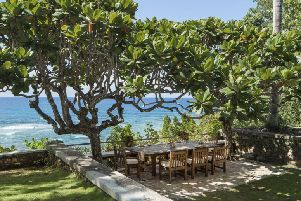 Ian Fleming's 'Goldeneye' villa in Jamaica, as it has been announced at an event in the country that Oscar winner Rami Malek and Captain Marvel star Lashana Lynch were among those joining the cast of Bond 25.