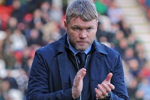 Doncaster Rovers' manager Grant McCann.