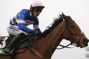 Cyrname and Harry Cobden will not take on dual Queen Mother Champion Chase winner Altior at Sandown this weekend (Picture: Julian Herbert/PA Wire).