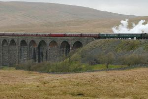 Rail trail features iconic Ribblehead Viaduct