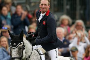 KENTUCKY KING: Oliver Townend.