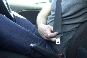 Handing penalty points to drivers caught not wearing a seat belt would be supported by more than seven out of 10 people, a survey suggests. Picture by Haydn West/PA Wire.