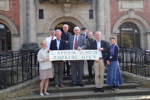 Campaigners said they were delighted after North Yorkshire County Council agreed to end the closure process at Clapham Church of England Primary School.