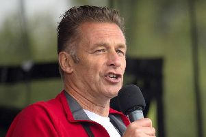 """TV presenter Chris Packham who said he has been sent death threats after backing a legal challenge which resulted in restrictions on shooting """"pest"""" birds. Picture by Dominic Lipinski/PA Wire."""