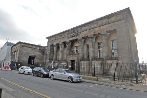 The Grade I listed Temple Works building in Leeds