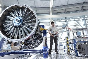 Creating a digital twin of a jet engine at Factory 2050.