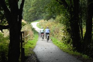 The Nidderdale Greenway has proven hugely popular