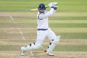 Yorkshire's Tom Kohler-Cadmore hits out. (Picture: SWPix.com)