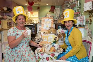Marie Curie hunts for Blooming Great Tea Party hosts