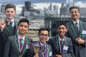 Armley students named first in Yorkshire to win Prince's Trust Enterprise Challenge