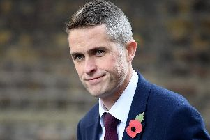 Gavin Williamson was sacked as defence secretary on May 1.