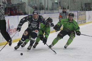 LOCAL RIVALS: Sheffield Steeldogs and Hull Pirates will both have a second Yorkshire team to face-off against in 2019-20 in the shape of new team Leeds Chiefs. Picture: Cerys Molloy