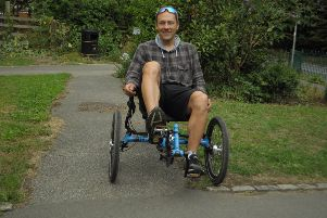 Leeds support worker in with a sporting chance of winning disability and autism award after setting up cycling group
