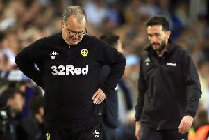 Leeds United manager Marcelo Bielsa at Elland Road on a dramatic Wednesday night. Picture: Nick Potts/PA
