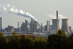 British Steel's Scunthorpe plant. Picture: PA
