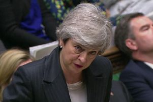 Prime Minister Theresa May speaks during Prime Minister's Questions in the House of Commons. Credit: House of Commons/PA