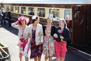 Passengers on the Northern Belle