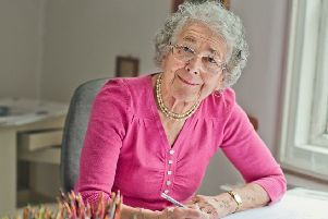 Judith Kerr. Photo: Eliz Huseyin/PA Wire