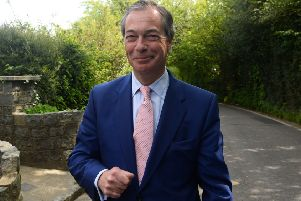 Brexit Party leader Nigel Farage. Photo: Kirsty O'Connor/PA Wire
