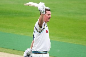 FIVE STAR: Gary Ballance faces Essex having hit centuries in a handful of consecutive Championship matches and is closing in on the Yorkshire record of seven, set by Sir Len Hutton