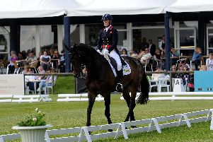 OUT IN FRONT: Northallerton's Nicola Wilson and JL Dublin. Picture by Simon  Hulme.