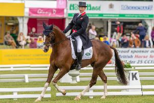 CROWD FAVOURITE: Zara Tindall on Class Affair. Picture by James Hardisty.