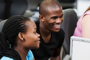 Students working in computer lab. Picture: Getty Images
