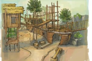 Proposed new �2m indoor play area at Tropical World.